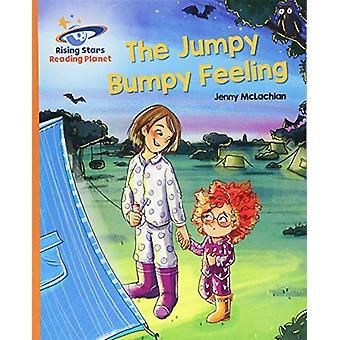 Reading Planet - The Jumpy Bumpy Feeling - Orange - Galaxy by Jenny Mc