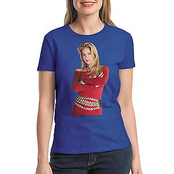 Married With Children Kelly Red Dress Women's Royal Blue T-shirt