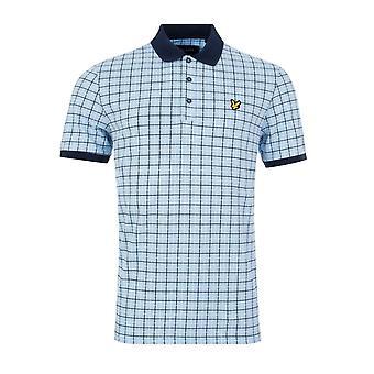 Lyle & Scott | Sp1214v Vintage Check Polo T-shirt - Blå