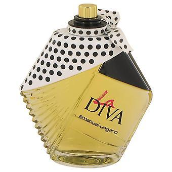La Diva Eau De Parfum Spray (Tester) By Ungaro 3.4 oz Eau De Parfum Spray
