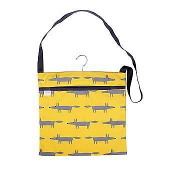 Scion Arvoisa Fox Pyyhi puhdas Peg Bag, keltainen