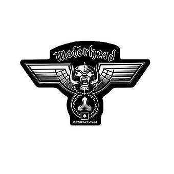 Motorhead Patch martelé Warpig bande Logo officiel New Black Cut Out tissé