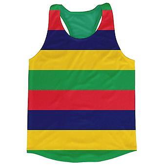 Mauritius Flag Running Vest
