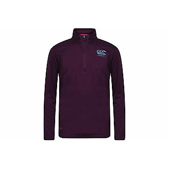 Canterbury Quarter Zip Base Layer Top Junior