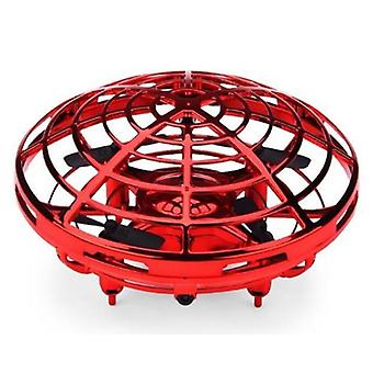 Stuff Certified® Mini RC UFO Quadcopter Drone Helicopter Toy Red