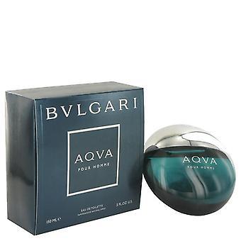 Aqua Pour Homme Eau De Toilette Spray por Bvlgari 5 oz Eau De Toilette Spray