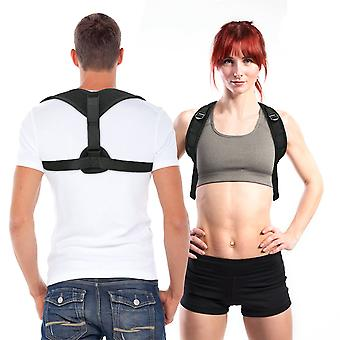 Back support breathable posture corrector pain relief