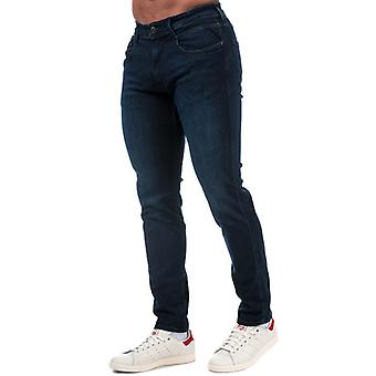 Men's Replay Anbass Slim Fit Jeans in Blue