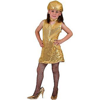 Disco Dress barn guld