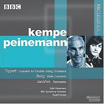 Tippett/Berg/Janec - Tippett: Concerto for Double String Orchestra; Berg; Violin Concerto; Jan Cek: Sinfonietta [CD] USA import