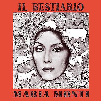 Monti*Maria - Il Bestiario [CD] USA import