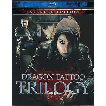 Dragon Tattoo Trilogy [BLU-RAY] USA import