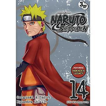 Naruto Shippuden Uncut : Set 14 [DVD] USA import