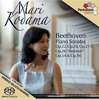 L.V. Beethoven - Beethoven: Piano Sonatas, Opp. 22, 26, 27/1 Pastorale, 54 & 90 [SACD] USA import
