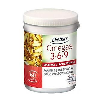 Omegas 3-6-9 60 softgels