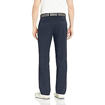 Essentials Men's Standard Classic-Fit Stretch Golf Pant, Navy, 31W x 34L