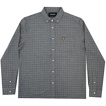 Lyle and Scott Vintage Shirts Grid Check Shirt
