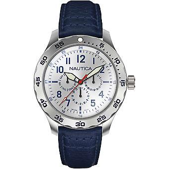 NAPNCI802, Nautica Cruise SP Relojes para Hombre -Plata