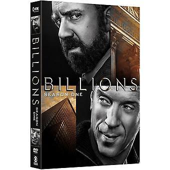 Billions: Season One [DVD] USA import