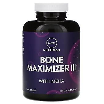 MRM, Nutrition, Bone Maximizer III with MCHA, 150 Capsules