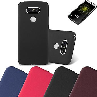 Cadorabo Case for LG G5 Case Cover - Mobile Phone Case made of flexible TPU silicone - Silicone Case Protective Case Ultra Slim Soft Back Cover Case Bumper