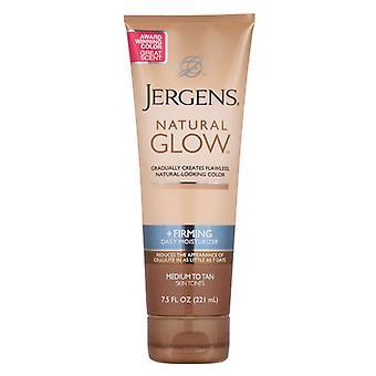 Jergens natural glow daily moisturizer, medium to tan skin tones, 7.5 oz *