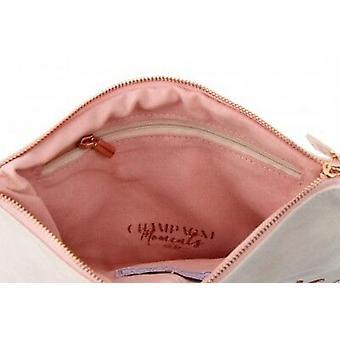 Champagne Moments White Bride To Be Beauty Bag