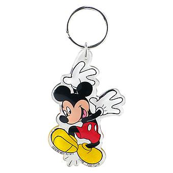 Lucite Key Chain - Disney - Mickey Mouse Hands Up New Gifts Toys 25097