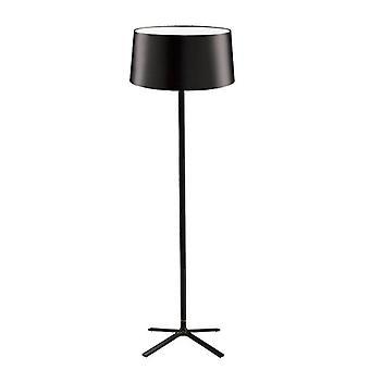 Leds-C4 GROK - 3 Light Floor Lamp with Black Fabric Shade, E27