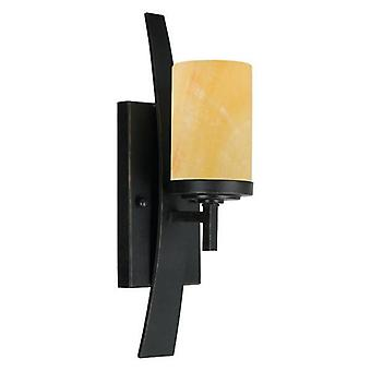 Elstead Kyle - 1 Light Indoor Candle Wall Light Imperial Bronze, E27