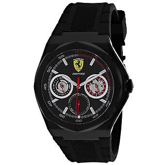 Montre à cadran noir Ferrari Men-apos;scuderia - 830538