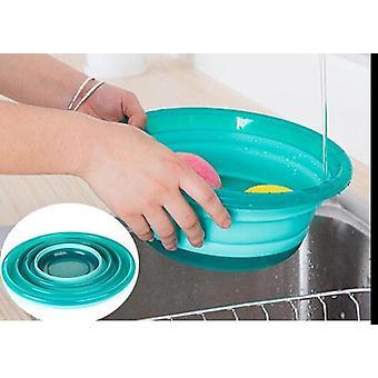 Protable skládací zelenina ovoce mycí koš umyvadlo kuchyně uspořádat