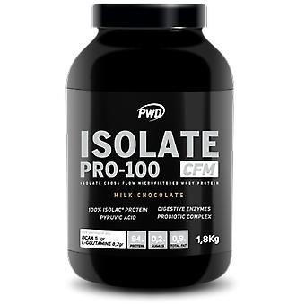 PWD Nutrition Isolate Pro-100 Chocolate 1,8 Kg