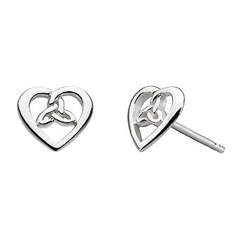 Heritage Celtic Heart Studs 4343HP021
