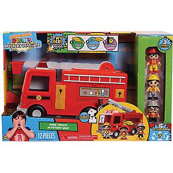 Ryan's Mystery Playdate Fire Truck Mystery Box