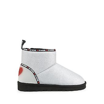 Love Moschino - shoes - ankle boots - JA21033H1BIT_0902 - ladies - silver,red - EU 39