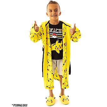 Pokemon Pikachu Electric Pokeball #025 Boy's Short Pyjamas