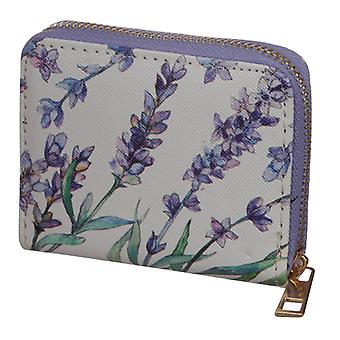 Small Zip Around Wallet - Lavender Fields X 1 Pack
