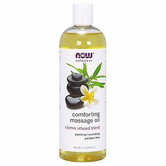 Now Foods Comforting Massage Oil, 16 Fl Oz