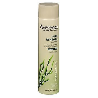 Aveeno actieve Naturals pure vernieuwing shampoo, 10,5 oz