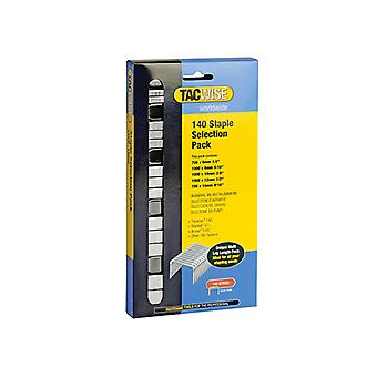 Tacwise 140 Heavy-Duty Staples (Type T50, G) Selection Pack 4400 TAC0350