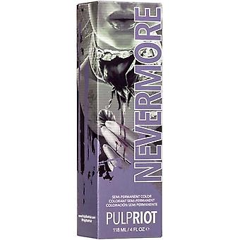 Pulp Riot Raven Collection - Semi Permanent Cruelty-free & Vegan Hair Dye - Nevermore 118ml