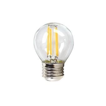 6-pack, LED lamp Silver E27 4W 3000K (Warm light)