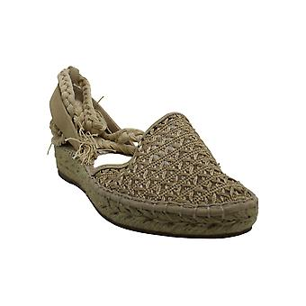 Steve Madden Womens Margarita Cotton Closed Toe Casual Espadrille Sandals