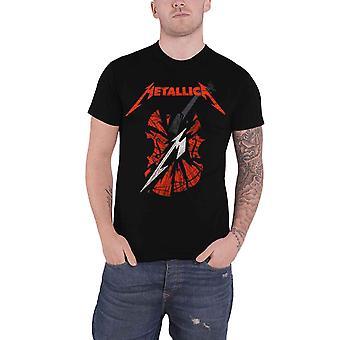 Metallica T Shirt S&M2 Scratch Cello Band Logo novo Official Mens Black
