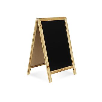 Large Double Sided Wood Frame Chalkboard