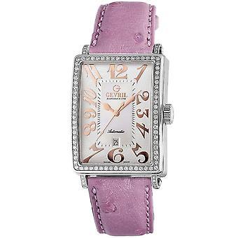 Gevril Women's 6208RL Glamour Automatic Pink Diamond Watch [Regarder]