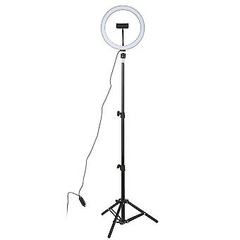 Led Studio Camera Ring Light -foto Telefon Video Lampă cu trepiede