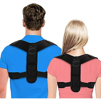 Posture Corrector For Men And Women - Adjustable Upper Back Brace For Clavicle To Support Neck, Back And Shoulder.
