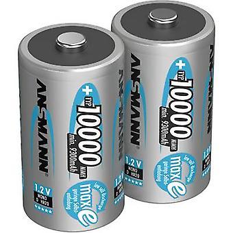 Ansmann maxE D batéria (nabíjateľná) NiMH 10000 mAh 1,2 V 2 ks (s)